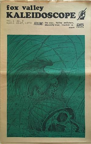 jimi hendrix newspapers 1970 / kaleidoscope april 13-27, 1970