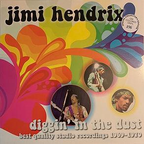 jimi hendrix bootlegs vinyls album/diggin' in the dust