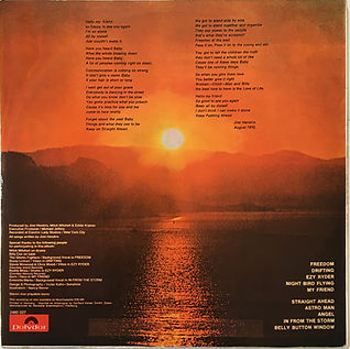 jimi hendrix  vinyl lp album/cry of love