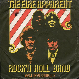 jimi hendrix single vinyls/the eire apparent : rock'n roll band