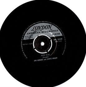 jimi hendrix collector singles vinyls 45t/hush now turkey 1967