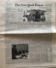BLACK ELVIS ? /jimi hendrix newspaper/ the new york times 25/2/4/1968