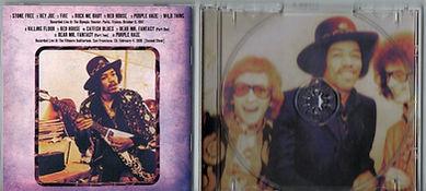 dagger records/jimi hendrix colllector cd bootlegs/paris 1967 san francisco 1968