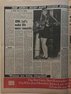 jimi hendrix newspapers 1970 / melody maker  june 20, 1970