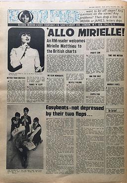jimi hendrix newspaper/disc music echo /30/12/1967/jimi for sale