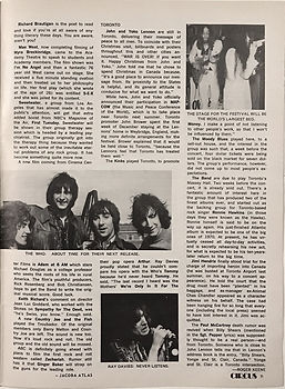 jimi hendrix magazines 1970 / circus march 1970