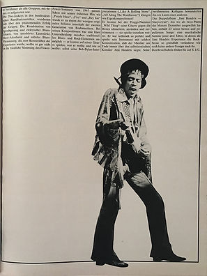 jimi hendrix magazines 1970 / twen december 1970 : article