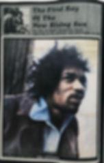 jimi hendrix newspaper 1969/top pops  january 11 1969