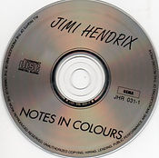 jimi hendrix collector bootlegs cds 1969/ notes in colours: disc 1