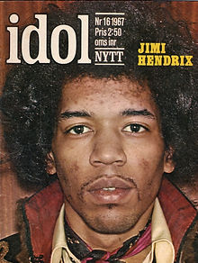 jimi hendrix collector magazine/idol 11/67 sweden