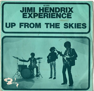 jimi hendrix rotily singles/up from the skies/france 68