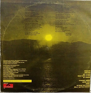 jimi hendrix vinyl lp album/cry of love 1971 israel