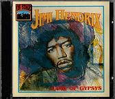 jimi hendrix rotily cd/band of gypsys