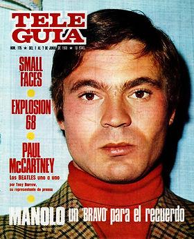 jimi hendrix magazines 1968/ tele guia : june 1-7, 1968