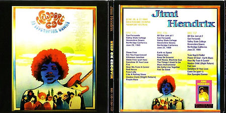 jimi hendrix cd bootlegs 1969/keep on groovin