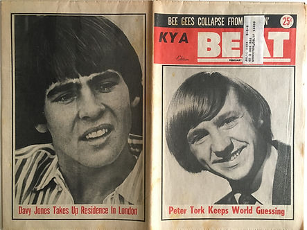 jimi hendrix collector newspaper/beat 10/2/68
