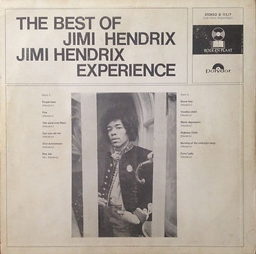 jimi hendrix rotily vinyl/best of