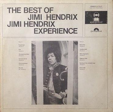 jimi hendrix rotily vinyl/best of