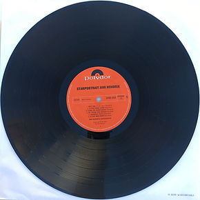jimi hendrix collector vinyls/ side 1 disc 1 : starportrait  1970 germany