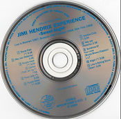 jimi hendrix collector bootlegs cd/sweet angel/word productions of compact music/1989