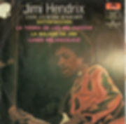 jimi hendrix vinyls, eps/mexico la balada de jimi