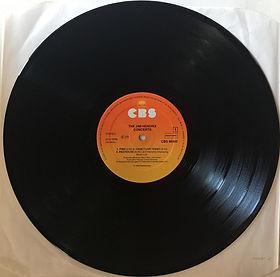 jimi hendrix vinyls album / the jimi hendrix concerts / side1 /  cbs  holland