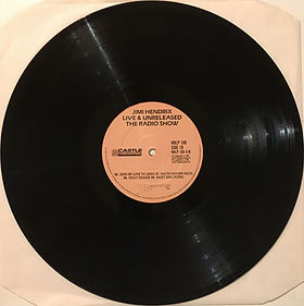 jimi hendrix vinyls album /  live & unreleased / side 10 : castel records