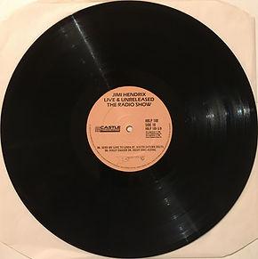 jimi hendrix vinyls album /  live & unreleased / side 10 : castel records
