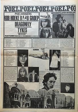 jimi hendrix newspaper/hit witheek 15/3/68