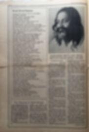 jimi hendrix newspaper/rolling stone march 9 1968