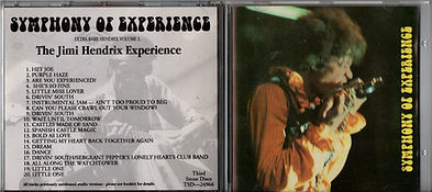 jimi hendrix collector ce bootlegs/symphony of experience