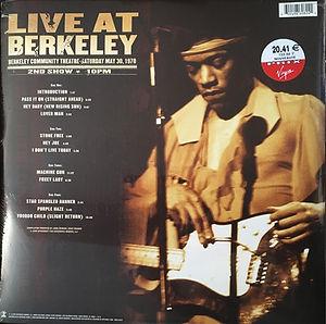 jimi hendrix vinyls collector/  live at berkeley  2003
