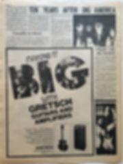 jimi henrix newspapers/go 23/8/68 AD : fender