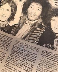 jimi hendrix magazine /august 1967