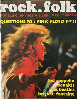 jimi hendrix magazines 1970 / rock & folk april 1970