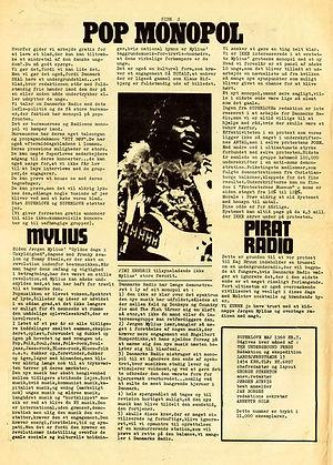 jimi hendrix newspaper 1968/superlove may 1968