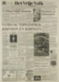 jimi hendrix newspapers 1967/het vrije volk/june 23, 1967