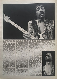 jimi hendrix collector magazines 1970/ pop november 1970 /  requiem