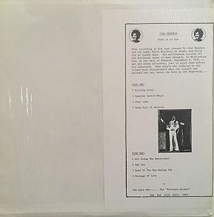 jimi hendrix bootlegs vinyls 1970 /  copenhagen 09.03.70 2lp