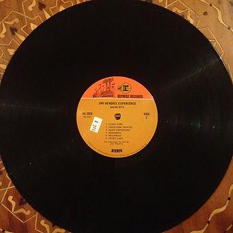 jimi hendrix colllector vinyls lp/smash hits usa first edition