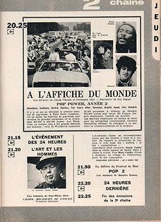 jimi hendrix magazines 1970 / tele 7 jours august 15,1970
