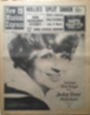 jimi hendrix newspaper 1968/new musical express november 16/1968 jimi hendrix story