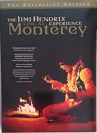 jimi hendrix rotily dvd/ monterey pop