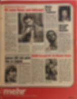 jimi hendrix magazine 1969/bravo  24 feb 1969
