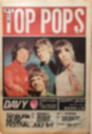 jimi hendrix newspaper/top pops 29/6/1968