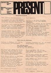 Memorabilia 1969/ germany tour /letter lippmann & rau