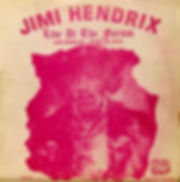 jimi hendrix bootlegs vinyls 1970 / live at the forum / abstract records /munia