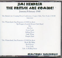 jimi hendrix cd bootlegs/the british are comine !