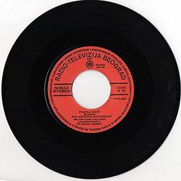 jimi hendrix singles vinyl/purple haze  1975 yougoslavia