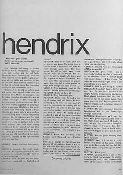 jimi hendrix magazine 1969/metanoia december/january 1969